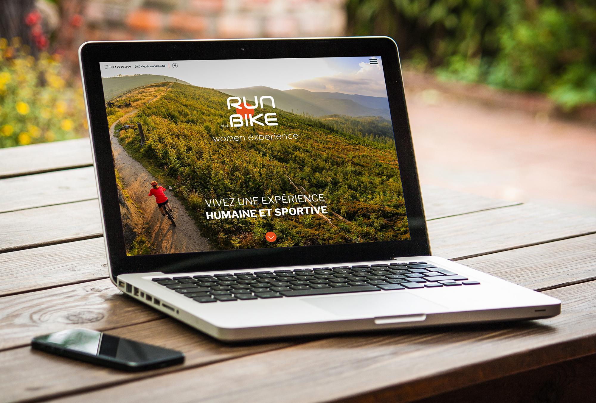 Graphic Plugin, studio de graphisme à Liège : Projet : Site web pour Run and Bike