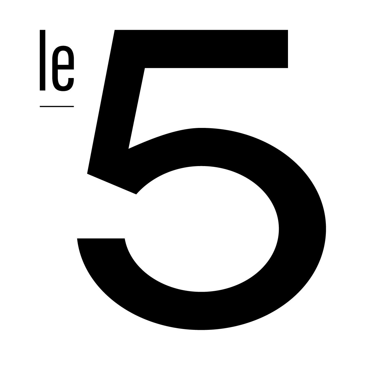 Graphic Plugin, studio de graphisme à Liège : Projet : Logo pour Le 5