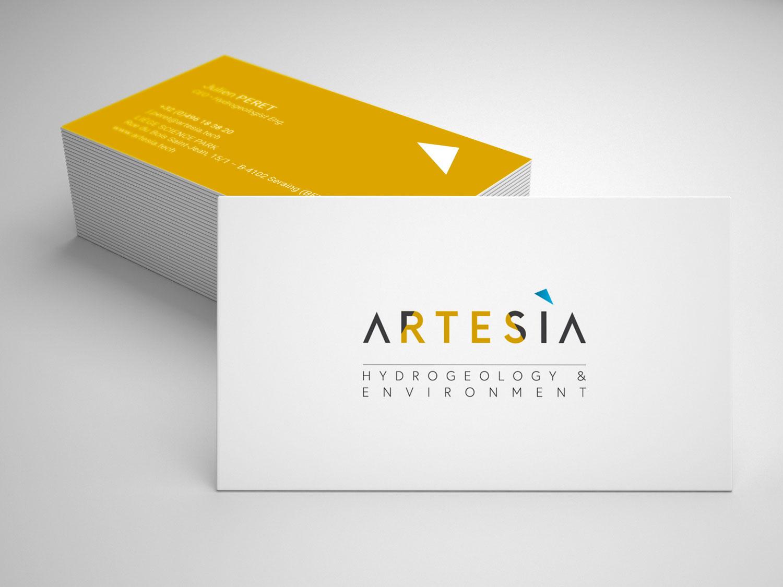 Graphic Plugin, studio de graphisme à Liège : Projet : Logo  pour Artesia