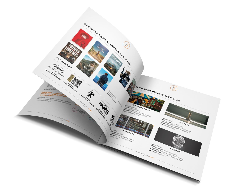 Graphic Plugin, studio de graphisme à Liège : Projet : Brochure pour Inver Invest