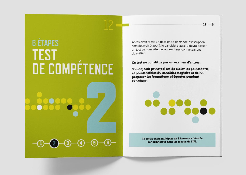 Graphic Plugin, studio de graphisme à Liège : Projet : Brochure A5  pour IPI