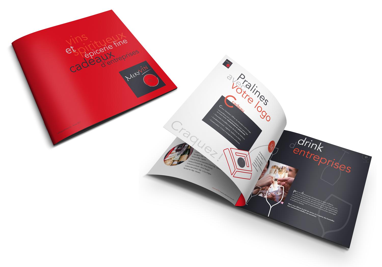 Graphic Plugin, studio de graphisme à Liège : Projet : Catalogue pour Meryvin