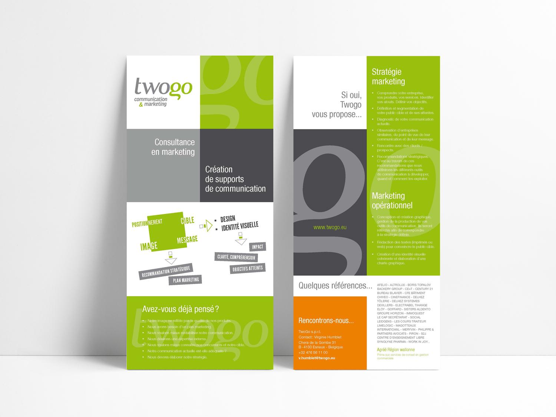 Graphic Plugin, studio de graphisme à Liège : Projet : Plaquette pour TwoGo