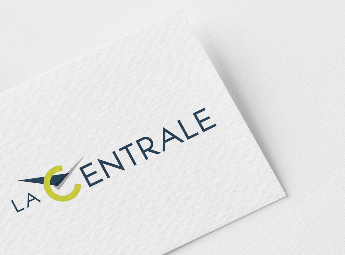 Graphic Plugin, studio de graphisme à Liège : Projet : Logo pour La Centrale
